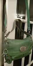 Fossil leather maddox messenger bag handbag.