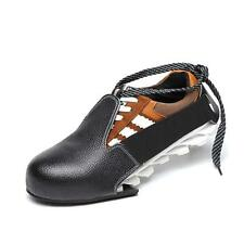 Shoes cover as safety shoes steel toe cap footwear one size fits all #