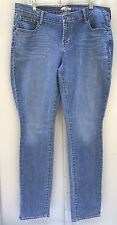 Old Navy Diva Jeans Straight Leg Stretch Women's Sz 16 Long
