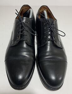 Alden Cap Toe Oxford Black Leather Men Size 12 B/D