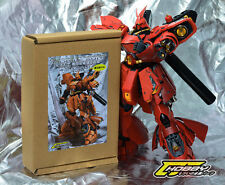 CJHOBBY Metal Details Part Set 1/100 MG Sazabi ver Ka Gundam Kit - RED