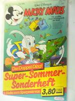 Micky Maus Nr. 32 / 1986  + Heft Super Sommer Sonderheft - Z. sehr gut