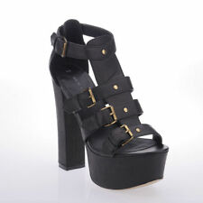 New Look Synthetic Leather Slim Heels for Women