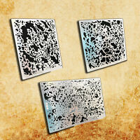Corrosion Stain Stenciling Template Leakage Spray Plate Kits for Military Model