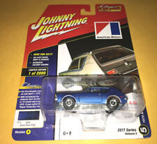 JOHNNY LIGHTNING diecast 1972 AMC GREMLIN toy car JETSET BLUE poly 1 of 2000
