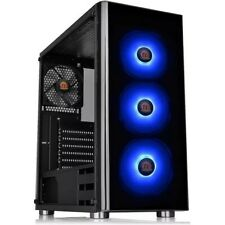 Thermaltake V200 RGB - Mid Tower Computer Gaming PC Case Upto ATX Tempered Glass