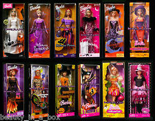 Boo-tiful Barbie Doll Halloween Princess Fortune Teller Glow Trick or Chic Treat