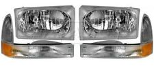 1999 - 2004 FORD SUPER DUTY HEADLIGHTS AND CORNER LAMPS LIGHTS COMBO