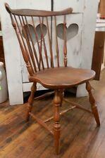 Vintage -  Pennsylvania House Cherry Windsor Brace Back Style Chair #1