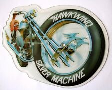 NEAR MINT EX+/EX+ HAWKWIND SILVER MACHINE SHAPED VINYL PIC PICTURE DISC LEMMY