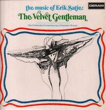 Erik Satie(Vinyl LP)The Velvet Gentleman-Deram-SML 1053-UK-1970-Ex-/VG+