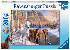 12690 Ravensburger Winter Horses XXL 200pc Children's Jigsaw Puzzle Age 8 Years+