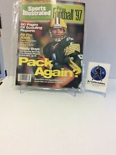 1997 SPORTS ILLUSTRATED PRO FOOTBALL GREEN BAY PACKERS BRETT FAVRE ON COVER