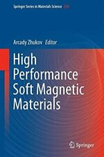 High Performance Soft Magnetic Materials (Sprin, Zhukov-,