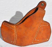 Vintage Brauer Bros Z12 Leather Pancake Belt Revolver Holster Right Hand RH Old
