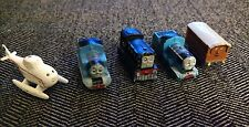 Lot 5 THOMAS THE TANK TRAIN CAKE TOPPERS MINIATURE MINIS TOYS BIRTHDAY PARTY KID
