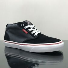 VANS ATWOOD MID BLACK GREY RED TRAINERS SHOES BOOTS
