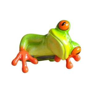 Creative Frog Funny Resin Ornament for Girls Women Home Decor Gifts 2 Styles