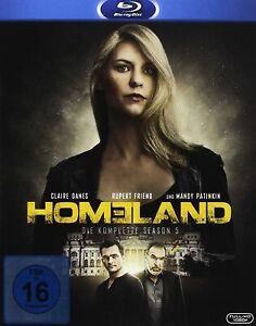 Homeland - Staffel 5 [3 Blu-ray's/NEU/OVP] 12 Episoden / Claire Danes, Rupert Fr