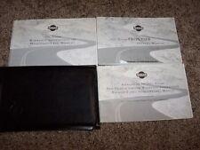 2001 Nissan Frontier Owner User Guide Operator Manual King Crew 2.4L 3.3L V6