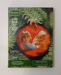 1977 SEARS WISH BOOK Christmas Catalog, Atari Snoopy Matchbox Superman Disney