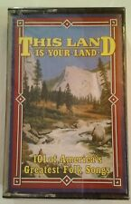 This Land Is Your Land Music Cassette #2 NOS Sealed Vtg 1993 Readers Digest Folk