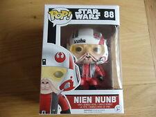 Funko Pop Nien Nunb con casco GameStop exclusiva (Star Wars, Leia) Raro