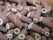 "50 Straight Cartridge Alum/Oxide Rolls(5/16""dia.X1"") w/3/32"" Pilot hole 240grit"