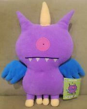 "Rare 14"" Uglydoll Uglycorn Plush Stuffed Classic Size Comicon Exclusive Purple"