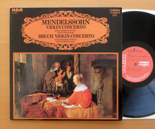 CCV 5017 Mendelssohn Bruch Concerto pour violon Laredo Munch Mitchell Presque comme neuf/EX stereo LP