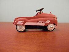 Xonex Fire Chief mini diecast pedal car
