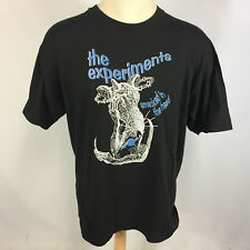 Vintage the Experiments Indie Punk Rock Band Tour Promo T Shirt 90s Grunge Goth