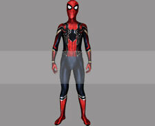 Avengers: Infinity War Peter Parker Spider-Man Iron Spider Suit Cosplay Costume