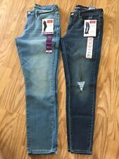 Signature Levi Strauss Modern Skinny & Low-Rise Jegging Lot Of Two. Size 10 S