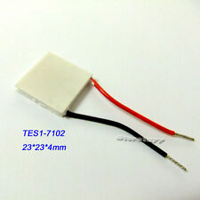 23x23mm TES1-7102 Thermoelectric Cooling Generator Thermo Peltier Cooler s811-1
