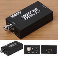 1080P HD SDI To HDMI Video Audio Converter Adapter Coaxial Cables For DVD PC New