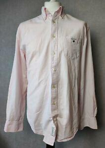 "Designer Mens GANT Perfect oxford Shirt - Regular fit - Long sleeve  Large 44"""