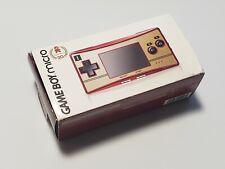 Nintendo Game Boy Micro console Happy Mario 20th Anniversary boxed US Seller