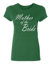 MOTHER of the BRIDE wedding gift bridal party team bride Women's T-shirt