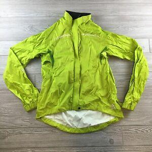 Novara Women's Full Zip Windbreaker Rain Jacket Cycling Jacket  Large