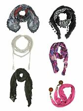 MULTICOLOR FASHION SCARF COLLECTION 6-PACK BUNDLE