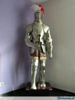 Medieval Knight Suit Of Armor 17th Century Combat Full Body Armour Suit W/Sword