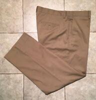 EDDIE BAUER * Mens Khaki Casual Pants * Size 34 x 30 * EXCELLENT