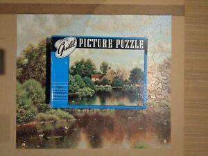 Vintage Jigsaw Puzzle 95 complete GuildMillpond30415x18