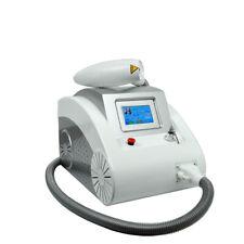 Portable Q Switch Nd Yag Laser Tattoo Removal Machine Skin Rejuvenation 2000MJ