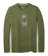 Smartwool Men's 150 Merino Wool Old Man Winter Base Layer Green Shirt NEW XL 2XL