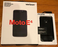 Verizon Motorola E4 16Gb Prepaid Smartphone, Black Open Box