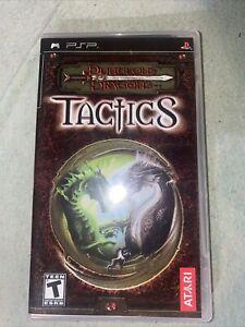 Dungeons & Dragons: Tactics (Sony PSP, 2007)