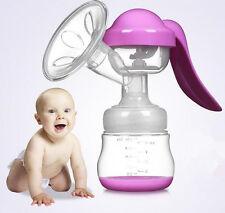 New Manual Breast Pump Nipple Suction Baby Feeding Bottle Milk Extractor Single