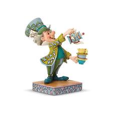 Jim Shore Disney Alice in Wonderland Mad Hatter 6001273 New Free Shipping